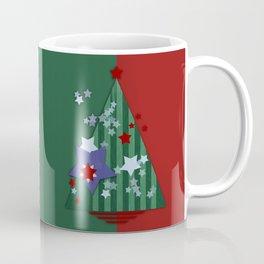stars and stripes - christmas edition Coffee Mug