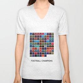 Football Champions Unisex V-Neck