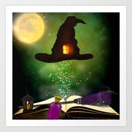 Magic Hat Art Print