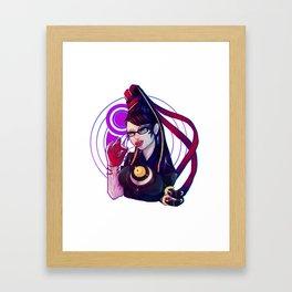 Bayonetta Framed Art Print