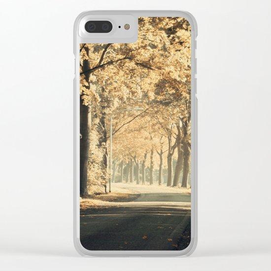 Autumn scenery #1 Clear iPhone Case
