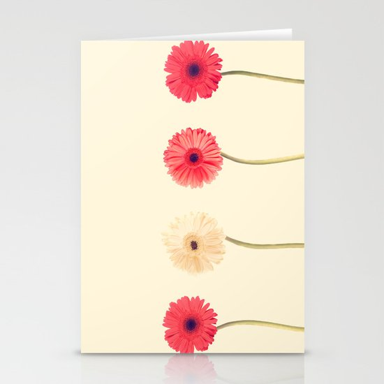 Technicolour Flowers  Stationery Cards