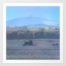 Arctic Mount Brocken Art Print