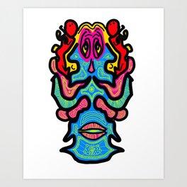 Melvin Art Print