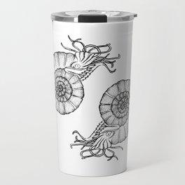 Ammonites Travel Mug