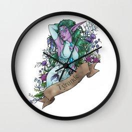 High Priestess Wall Clock