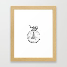 Christmas Bauble Framed Art Print