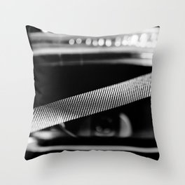 WHAT A DIFFERENCE A SNARE MAKES Throw Pillow