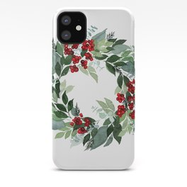 Holly Berry iPhone Case