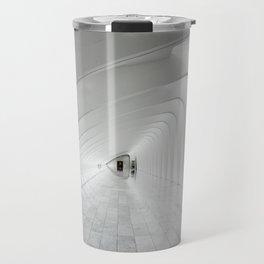 Abstract Corridor Travel Mug