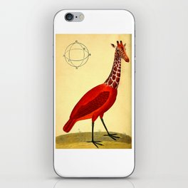 Bird Giraffe iPhone Skin