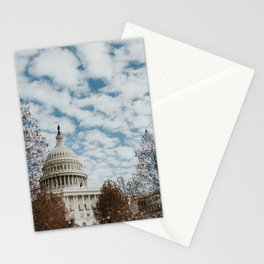 Capitol Hill | Colourful Travel Photography | Washington D.C., America (USA) Stationery Cards