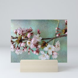 """Cherry blossoms on """"Wa-shi"""" Mini Art Print"""