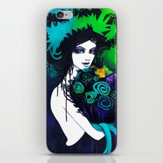 Flora the Goddess of Flowers iPhone & iPod Skin