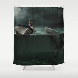 Unusual Friend Shower Curtain
