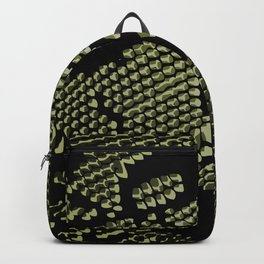 olive lace Backpack