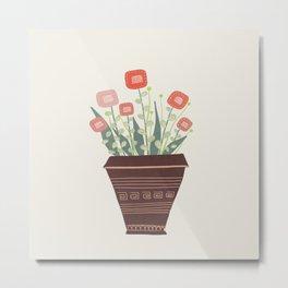 Floral vibes VII Metal Print