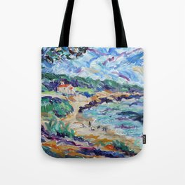 Chapel at St Croix Tote Bag