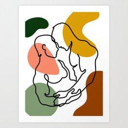 NOODDOOD Lines 7 Art Print