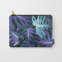 Monstera Blues Carry-All Pouch