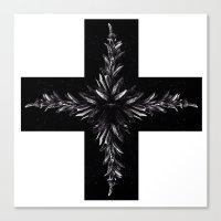 cross Canvas Prints featuring cross by Кaterina Кalinich