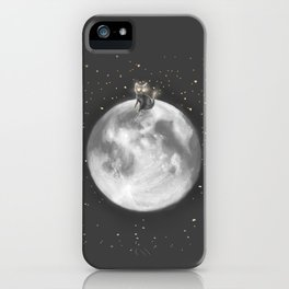 Lost in a Space / Moonelsh iPhone Case