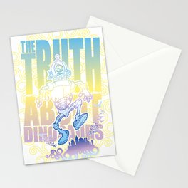 Truth about Dinosaurs Stationery Cards