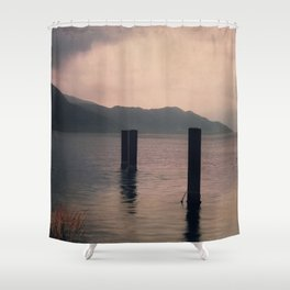 mountains inner peace Shower Curtain