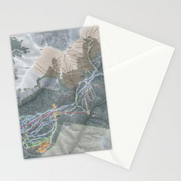 Keystone Trail Map Stationery Cards