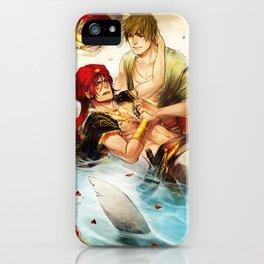 Arabian merman iPhone Case