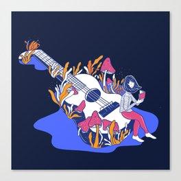 WonderUke Canvas Print
