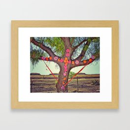 Trees in Mexico Framed Art Print