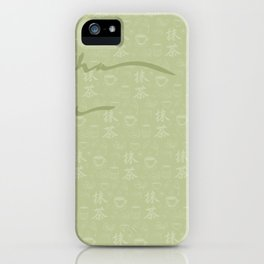 Matcha Time! iPhone Case