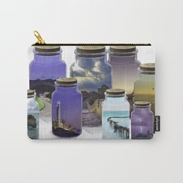 Bottled World Carry-All Pouch