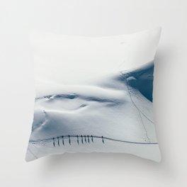 Mountain trace  Throw Pillow