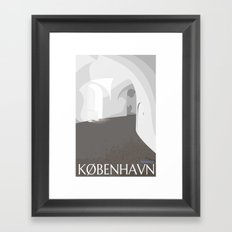 Rundetårn - Round Tower Copenhagen Framed Art Print