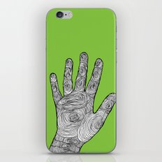 Handprint iPhone & iPod Skin