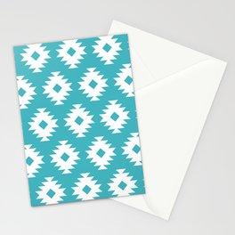 Southwestern Pattern 428 Turquoise Stationery Cards