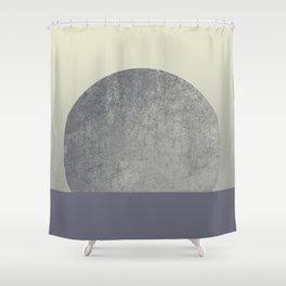 Moon II Shower Curtain