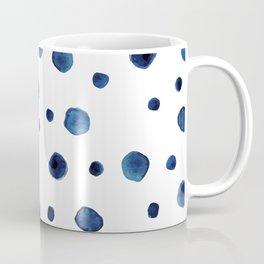 Blue Indigo Series - Round Pattern Coffee Mug