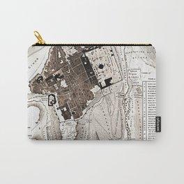 Plan of Jerusalem Carry-All Pouch