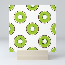 Kiwi summer fruit Mini Art Print