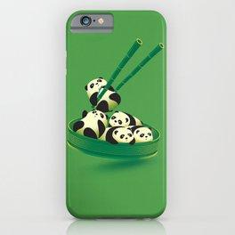 Panda Dumpling iPhone Case