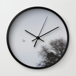 leaving... Wall Clock