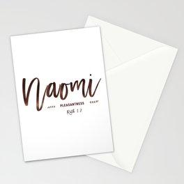 Christian name | Naomi Stationery Cards