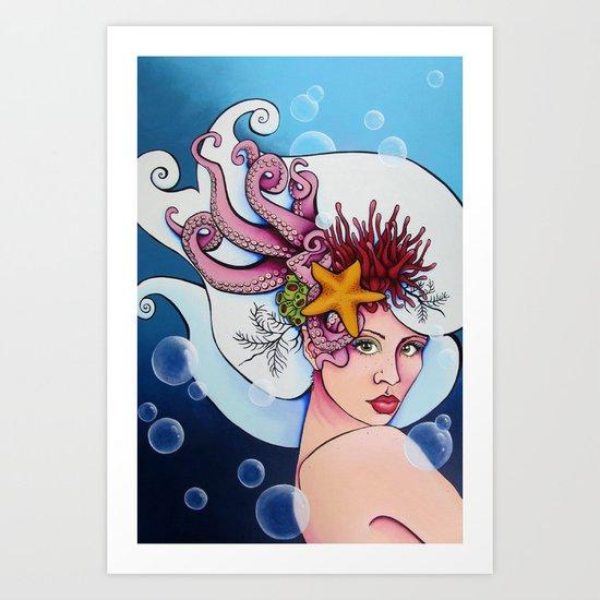 Nereid Kallianassa Art Print