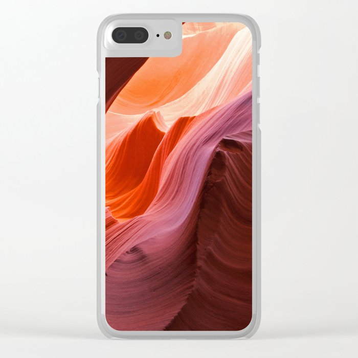 The Waves of Antelope Canyon Clear iPhone Case