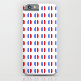Flag of France - with soft square iPhone Case