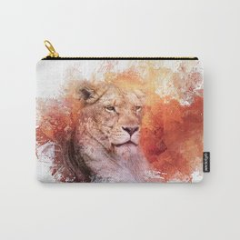Expressions Lioness Carry-All Pouch