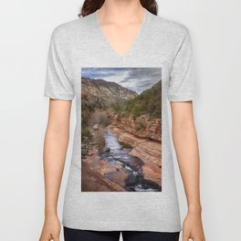 Slide Rock State Park - Arizona Unisex V-Neck
